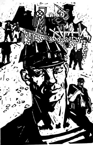 Portrait of a miner